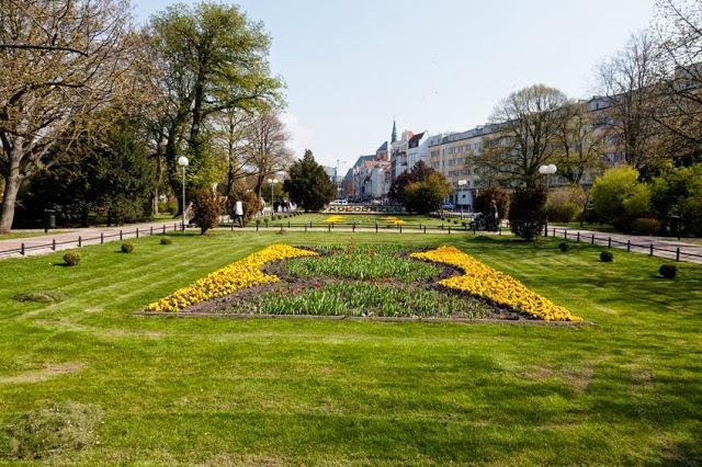 Park w Kołobrzegu